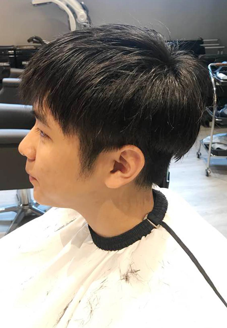 Men Iron Perm The Wiz Korean Hair Salon Singapore