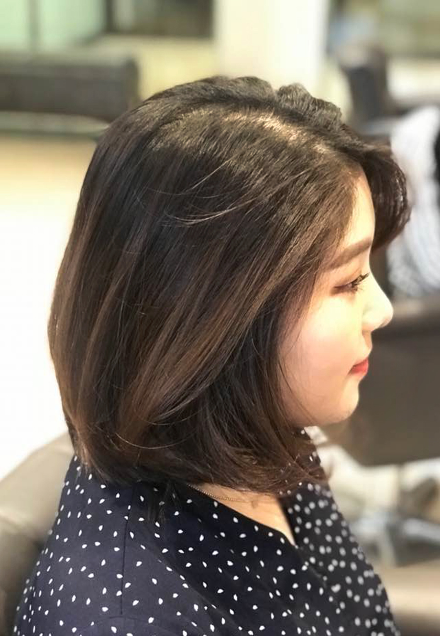 Hairstyle The Wiz Korean Hair Salon Singapore