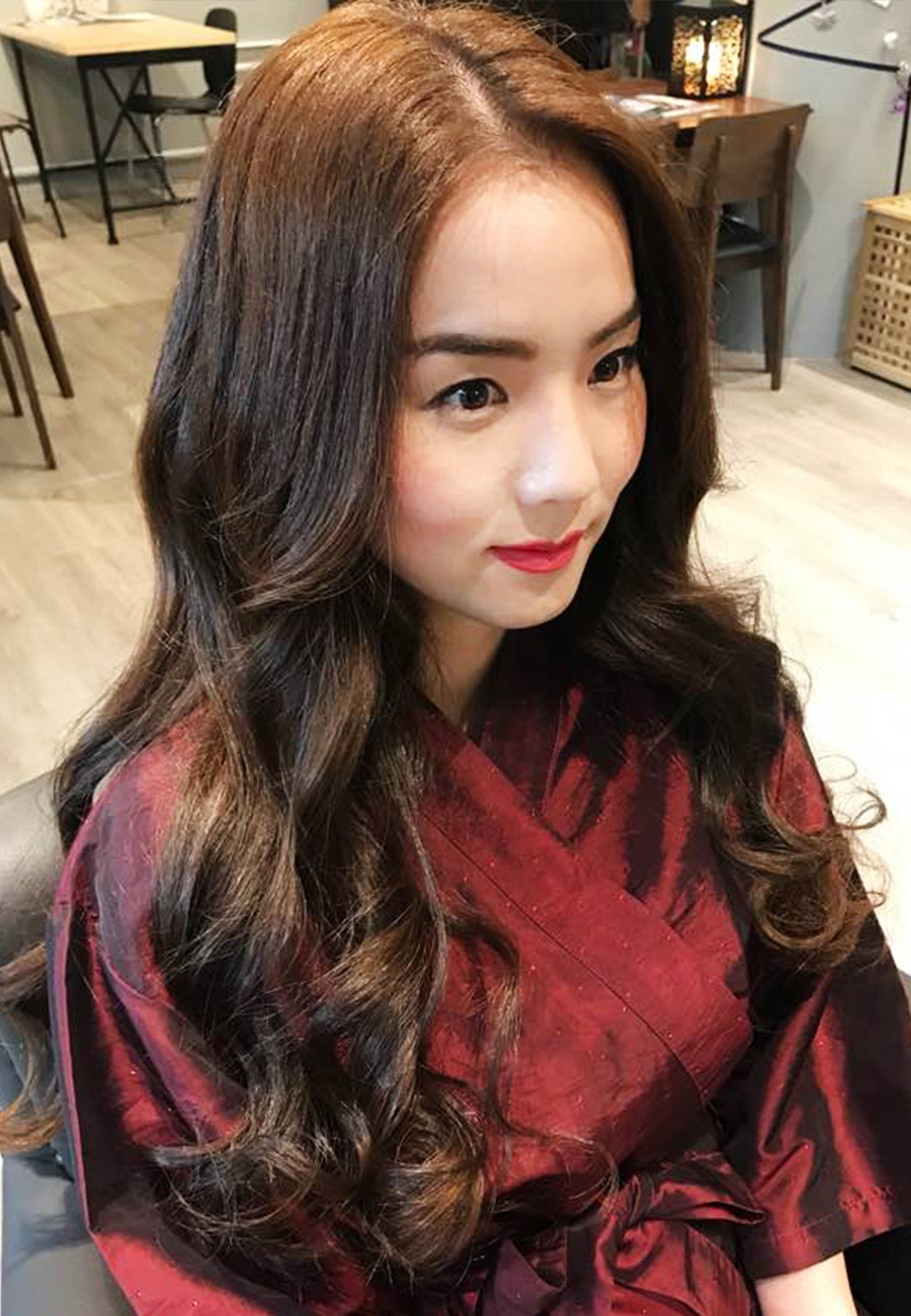 Natural Wave Perm The Wiz Korean Hair Salon Singapore