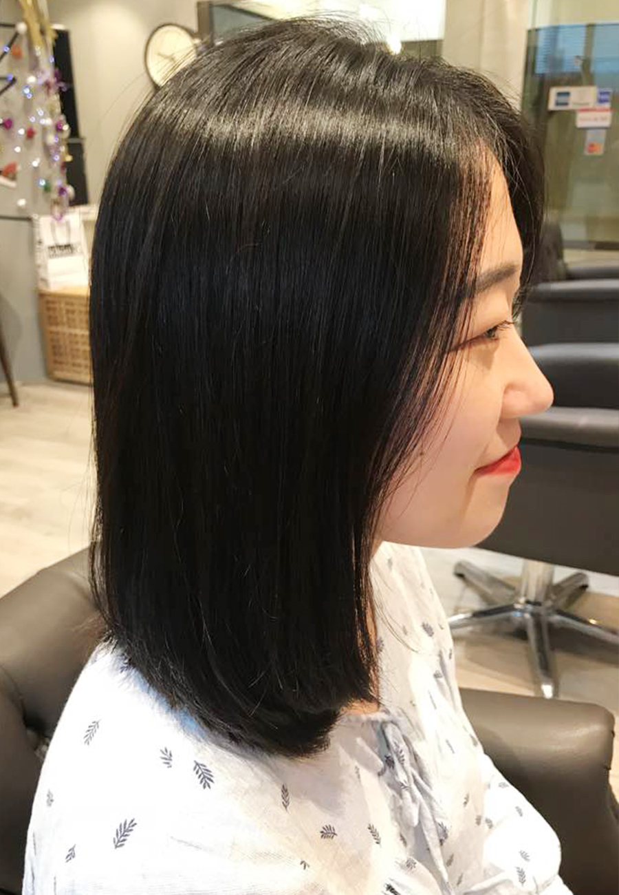 Soft Rebonding The Wiz Korean Hair Salon Singapore